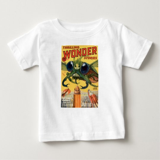 Giant Scary Fly Baby T-Shirt