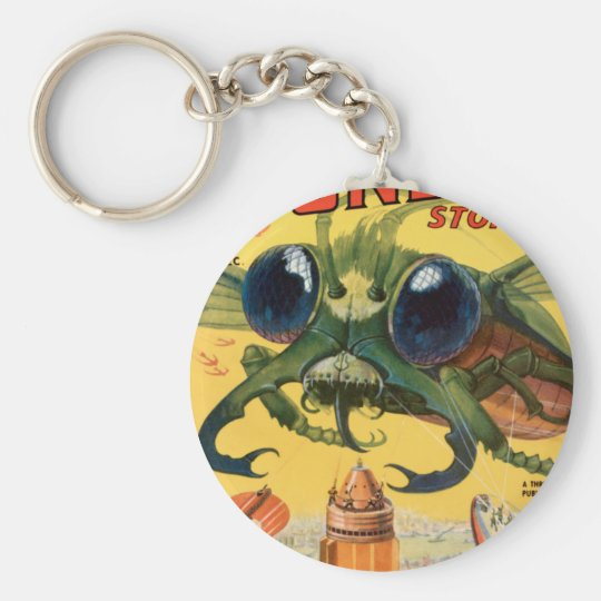 Giant Scary Fly Keychain