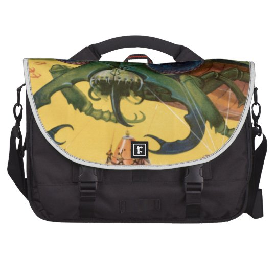 Giant Scary Fly Laptop Bags