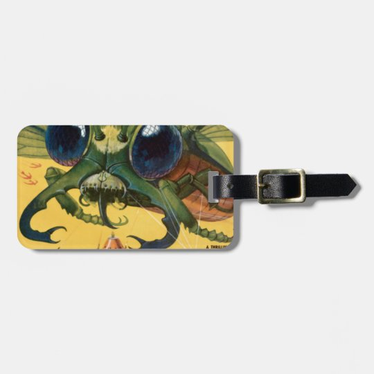 Giant Scary Fly Luggage Tag