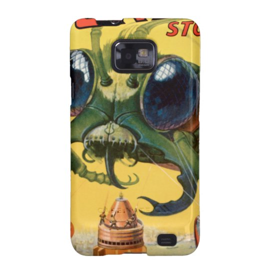 Giant Scary Fly Samsung Galaxy SII Cover