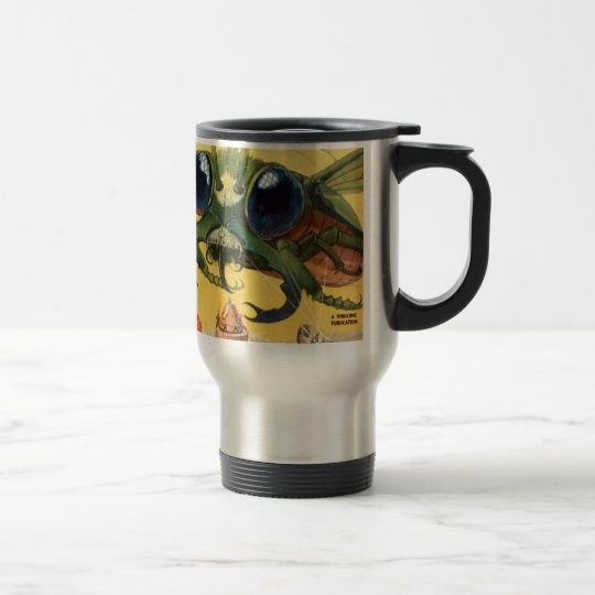 Giant Scary Fly Travel Mug