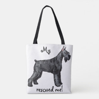 Giant Schnauer Rescue Tote Bag