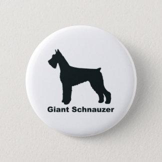 Giant Schnauzer 2 Inch Round Button