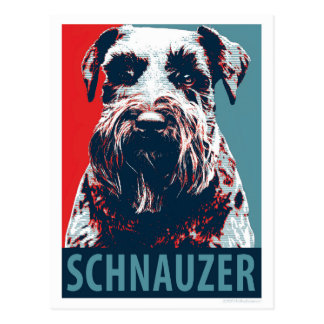 Giant Schnauzer by Hope Dogs Postcard