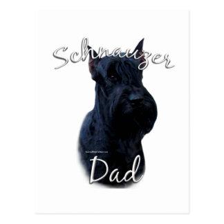 Giant Schnauzer Dad 2 Postcard