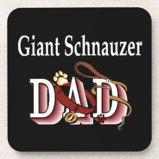 Giant Schnauzer Dad Coaster