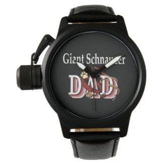 Giant Schnauzer Dad Gifts Watch