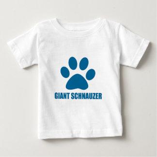 GIANT SCHNAUZER DOG DESIGNS BABY T-Shirt