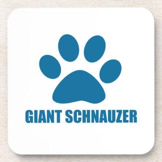 GIANT SCHNAUZER DOG DESIGNS COASTER