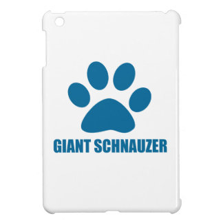 GIANT SCHNAUZER DOG DESIGNS iPad MINI CASES