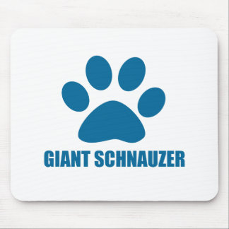 GIANT SCHNAUZER DOG DESIGNS MOUSE PAD