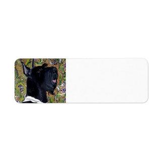 Giant Schnauzer Return Address Label