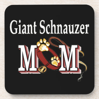 Giant Schnauzer Mom Gifts Beverage Coasters
