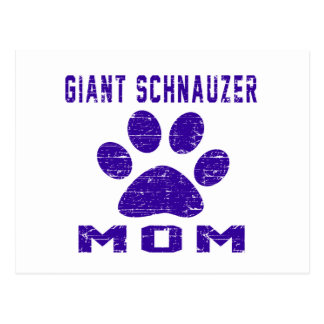Giant Schnauzer Mom Gifts Designs Postcards