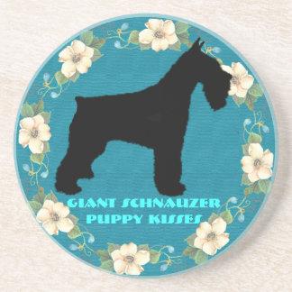Giant Schnauzer - Puppy Kisses Coasters