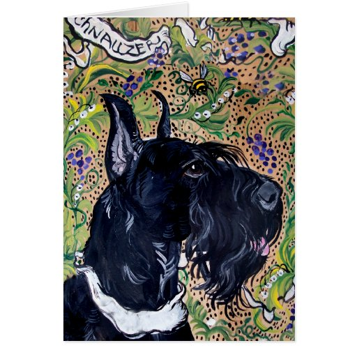 Giant Schnauzers Cards