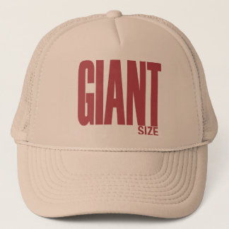 Giant Size Trucker Hat