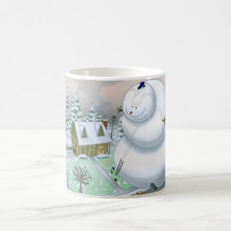 Giant Snowman Mug