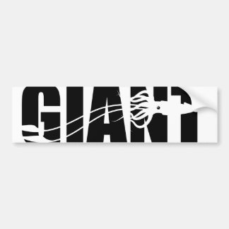 Giant Squid Bumper Sticker