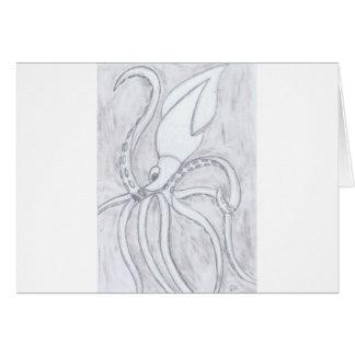 Giant Squid Card