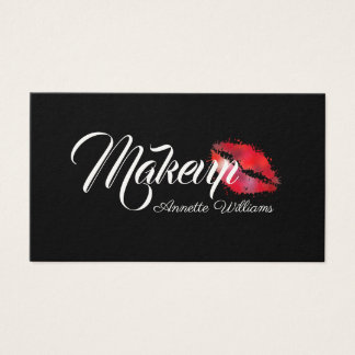 Giant style professional black business card