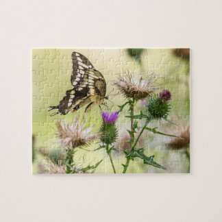 Giant Swallowtail Butterfly Jigsaw Puzzle