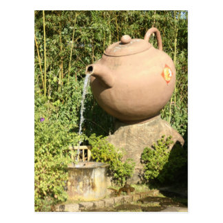 Giant teapot at Pinglin, Taiwan Postcard