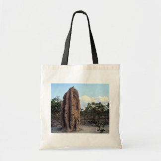 Giant termite mound, Northern Territory, Australia Tote Bag
