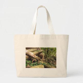 Giant Tree Roots Trip to Zanzibar Island Reefs Fun Jumbo Tote Bag