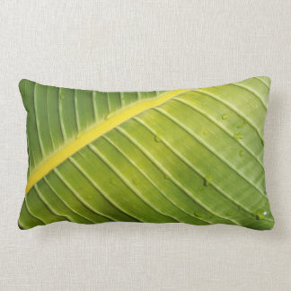 Giant Tropical Leaf Pillow