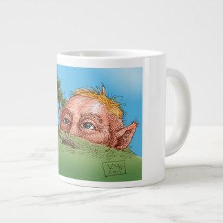 Giant Watching Large Coffee Mug