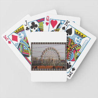 Giant Wheel Rides New Delhi India Craft Festivals Bicycle Playing Cards