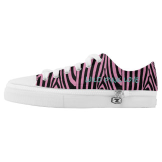 Giant Wild Pink Love Black Shoes