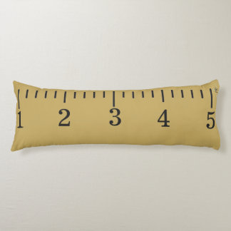 Giant Wooden Ruler - Body Pillow - Personalize It!