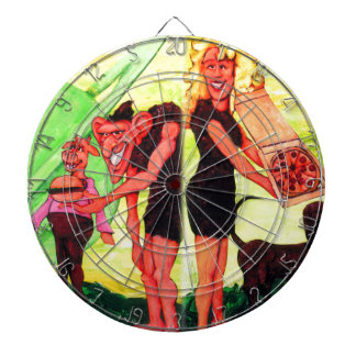 Giants on Triton Dartboard
