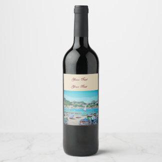 Giardini Naxos, Wine or Champagne Bottle Labels