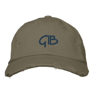GIB Hat Embroidered Baseball Caps