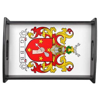 Gibb Coat of Arms (Scottish) Service Trays