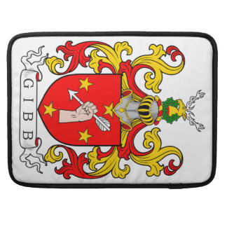 Gibb Coat of Arms (Scottish) Sleeve For MacBook Pro