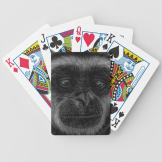 Gibbon wildlife indonesia mammal bicycle playing cards