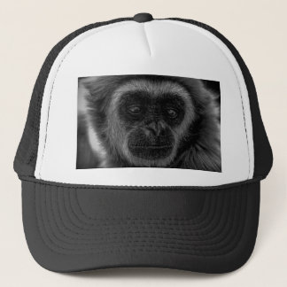 Gibbon wildlife indonesia mammal trucker hat