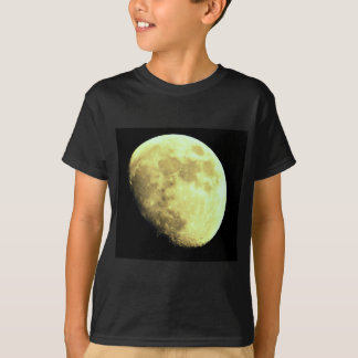 Gibbous Moon Dark background T-Shirt