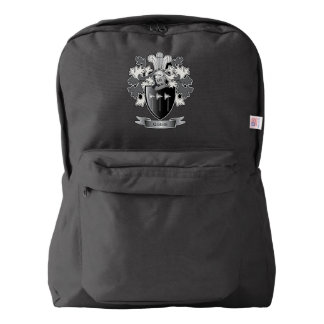 Gibbs Family Crest Coat of Arms Backpack