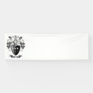 Gibbs Family Crest Coat of Arms Banner