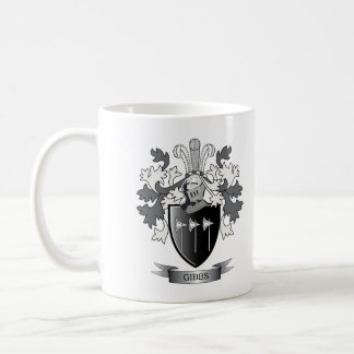 Gibbs Family Crest Coat of Arms Coffee Mug