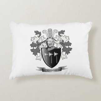Gibbs Family Crest Coat of Arms Decorative Pillow