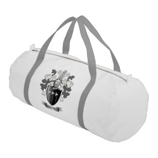 Gibbs Family Crest Coat of Arms Gym Bag