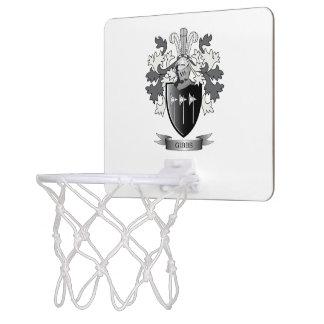 Gibbs Family Crest Coat of Arms Mini Basketball Hoop