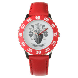 Gibbs Family Crest Coat of Arms Wrist Watches